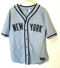 H&M New York City Baseball Jersey T-shirt Size XL