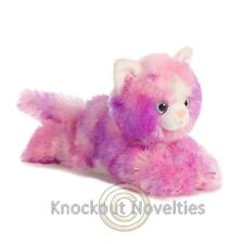 Razberryripple Aurora Plush Stuffed Animal Toy Cute Cuddly Pink Kitten Kitty Cat