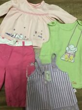 Baby Girls Mothercare Humphreys Corner Lottie Dress Top Trousers 0-3 Months Lot