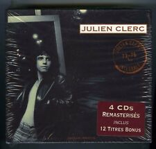 JULIEN CLERC COFFRET 4 CDs (NEUF) 1973 -1976 (INTEGRALE REMASTERISES)