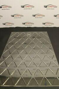 Car Upholstery / Trimming - stitch 65x115 diamond pattern template 3mm acrylic