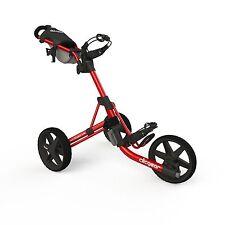 Golftrolley Clicgear 3.5+, 3-Rad, das neueste Modell, Farbe: red-black !