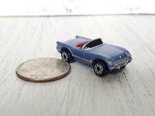 Micro Machines Galoob '54 Chevy Corvette Convertible Car Purple RARE