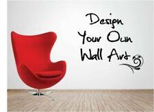 Pegatinas y plantillas de pared personalizado para el hogar