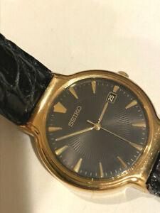 Seiko V732-0220 Starburst Dial Men's Watch