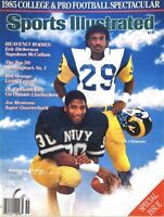 1985 Sports Illustrated Navy Napoleon McCallum Naval Academy Dickerson cover