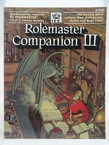 Rolemaster - Companion III - (I.C.E. #1700, Rolemaster) 103001002