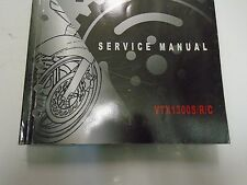 2004 2005 2006 2007 2008 2009 Honda VTX1300S/R/C Service Repair Shop Manual NEW
