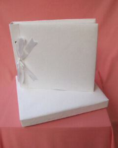 Plain Boxed Photo ALBUM can be decorated for Wedding / Baby / Gift / DIY