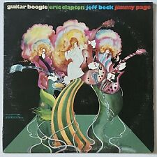 Rock Eric Clapton / Jeff Beck / Jimmy Page ‎– Guitar Boogie Lp vinyl record