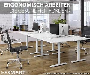 ESMART Elektrisch höhenverstellbarer Schreibtisch ETX ELX EZX ESX EMX EBX