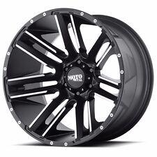 22x12 black wheels MOTO METAL 978 LIFTED 1994-2018 DODGE RAM 2500 3500 8x6.5