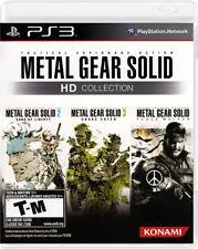 Konami Metal Gear Solid HD Ps3