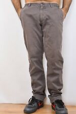 Napapijri Men's Trousers Pants geographic roots Brown Chino jeans W33 GOOD