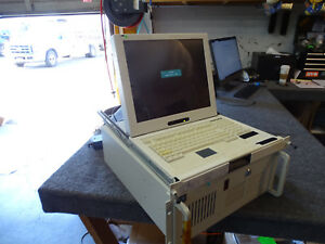 """Samsung LCD Display w/ Keyboard Mouse 17"""" Rackmount LCD Monitor"""