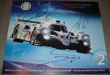 Le Mans WEC 2015 Silverstone Toyota Hybrid Racing TS040 4TH LMP1 Class Wurz