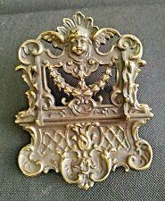 Antique Beautiful Deponirt   Bronze Pen Holder  an ANGEL