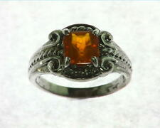 Opal (Mexican) Genuine Gemstone in Sterling Silver Ring RSS,573