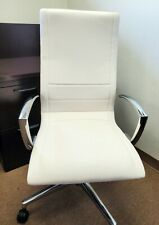 Kimball Niles Conference Chair In Ivory White
