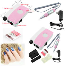 New Portable Electric Nail Drill Machine Rechargeable Cordless Manicure Pedicure