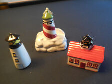 Nautical theme Napkin Holder with Salt & Pepper Shakers AMERICAN ATELIER