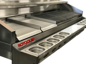 BESPOKE peri peri grill radiant grill steak grill char grill Wolf falcon grill