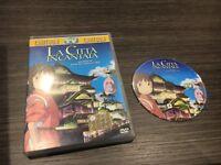La Città Incantata DVD Hayao Miyazaki il Viaggio De Chihiro Italiano/Giapponese