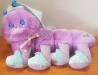 1984 Lots-A-Leggggggs Vintage Purple Sleepy 8 Leg Caterpillar by Commonwealth