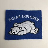 Vintage Explore Canada Arctic Polar Explorer Polar Bear Patch