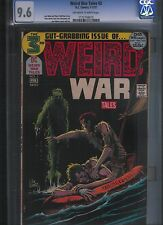 Weird War Tales # 3 CGC 9.6 Off White to White Pages. UnRestored