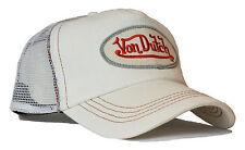 VON van DUTCH MESH TRUCKER BASE CAP [DENIM WHITE] HUT KAPPE MÜTZE HAT BASECAP