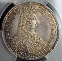 1705, Olmutz, Charles III of Lorraine. Beautiful Silver Thaler Coin. PCGS AU-55!