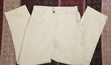 Womens Christopher & Banks Light Green Stretch Pants Size 6