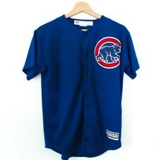 Kids Majestic Athletic MLB Chicago Cubs Cool Base Alternate Jersey Youth