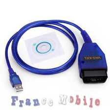 Auto Diagnostique Outil Câble USB KKL VAG-COM 409.1 OBD2 OBDII Volkswagen Audi