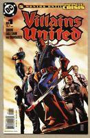 Villains United #1-2005 nm- 9.2 1st Standard Cover 1st app new Secret Six
