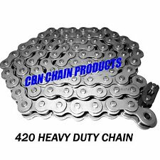 420 Chain 66 Links Go Kart Mini Bike Chain Bdm Btk Ken-Bar Manco #6511 Chain
