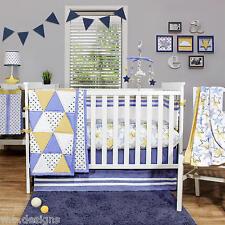 The Peanut Shell Stargazer 11Pc Crib Bedding Set Include Mobile/Lamp/Art++ *New*