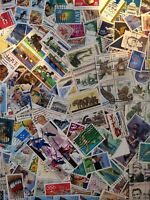 Worldwide Stamp Lots: United States of America USA Used - 300 Different Stamps