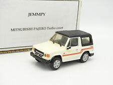 Jemmpy Kit Monté 1/43 - Mitsubishi Pajero Turbo Court Blanc