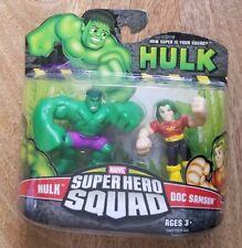 Marvel Super Hero Squad Hasbro Hulk Doc and Samson
