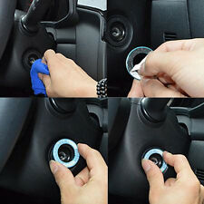 LED Luminous Car Ignition Key Ring Coil Sticker For Ford Chevrolet Toyota Honda