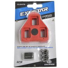 EXUSTAR Road Bike Cleats for Exustar EPS & Look Delta Pedals E-ARC1 Red