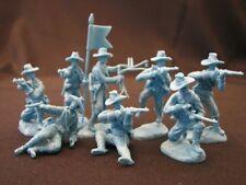 Paragon U.S. Cavalry (Dismounted) Set #5 Medium Blue 1/32 54mm Unpainted Plastic