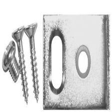 2x Rolltrak Spares FLOOR& ARCHITRAVE DOOR GUIDE+Screws 1881,Adjustable*Aus Brand