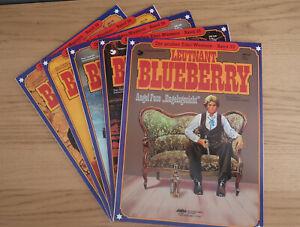 Leutnant Blueberry - Band 33+35+36+38+39 - Verlag: Delta / ehapa - Softcover