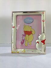 Cornice portafoto Winnie the Pooh in argento DISNEY WP1091/3R regalo per nascita