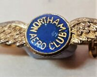 VINTAGE WEST AUSTRALIAN NORTHAM AERO CLUB WING BADGE