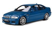 2001 BMW E46 M3 Laguna Seca Blue LE Ottomobile PRE-ORDER 1:18 Resin MIB