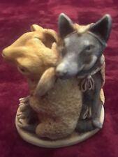 Harmony Kingdom  MUTTON CHOPS  wolf and sheep
